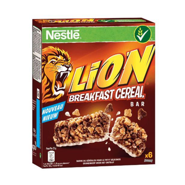 Oferta de Lion Barras de Cereais por 1,74€