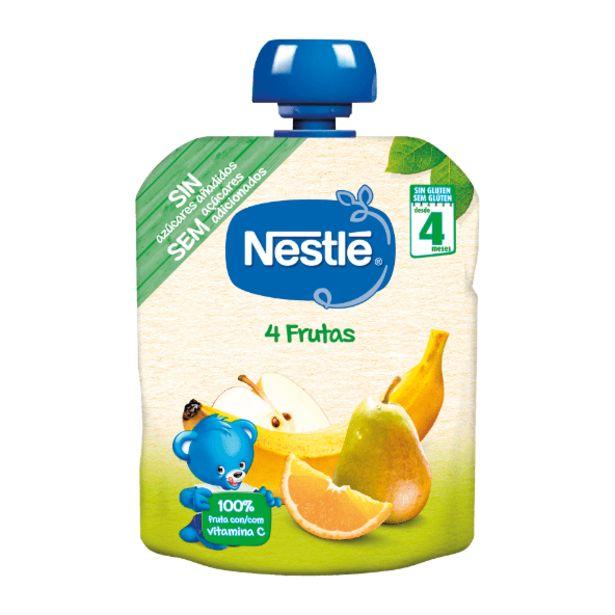 Oferta de Nestlé Saqueta de Fruta 4 Frutas por 0,74€