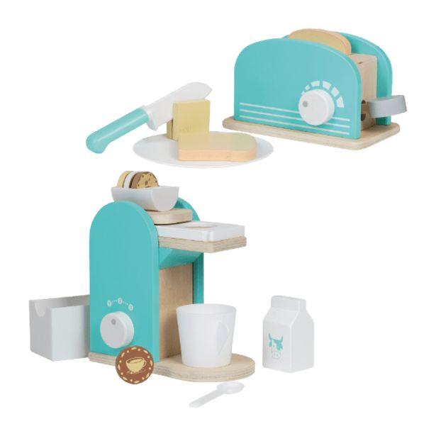 Oferta de Brinquedos de Cozinha em Madeira por 7,99€