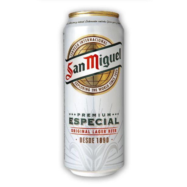 Oferta de San Miguel Cerveja Premium por 0,79€