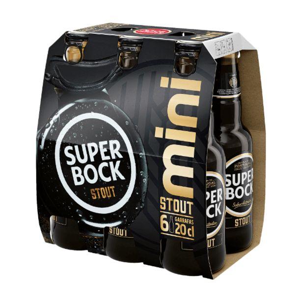Oferta de Super Bock Stout Cerveja Preta por 2,69€