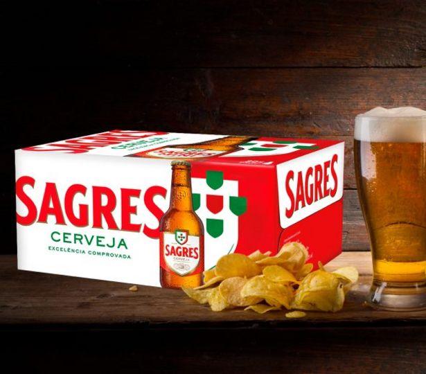 Oferta de Sagres Cerveja por 12,49€