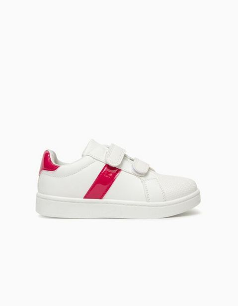 Oferta de Sapatilhas para Menina, Branco/Rosa por 9,99€