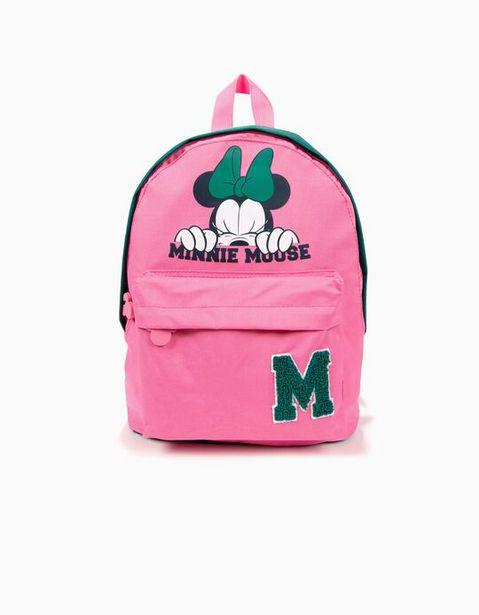 Oferta de Mochila Minnie Mouse Rosa e Verde por 4,99€