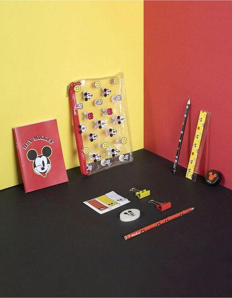 Oferta de Conjunto Material Escolar Mickey Disney por 6,39€