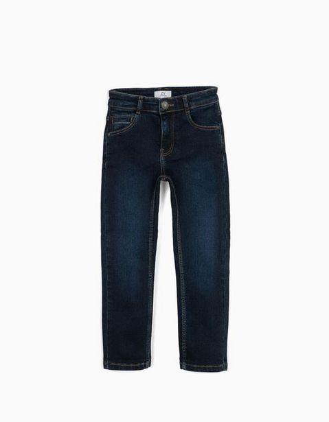Oferta de Calças de Ganga para Menino, Azul Escuro por 12,99€