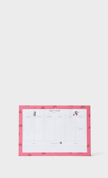 Oferta de Planner de mesa da Minnie Mouse por 7,99€
