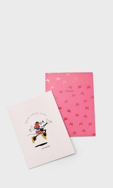 Oferta de Pack de notebooks da Minnie Mouse por 5,99€