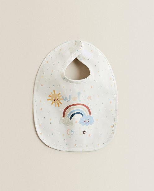 Oferta de Babete Plastificado Sol E Nuvens por 7,99€