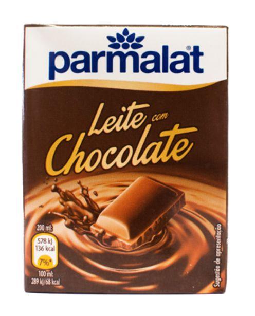 Oferta de Leite PARMALAT Chocolate 200ml por 0,35€