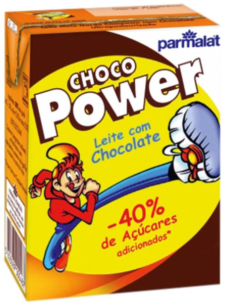 Oferta de Leite PARMALAT Chocopower 200ml por 0,35€