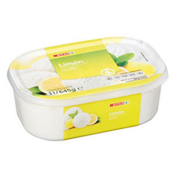 Oferta de Gelado SPAR Sorvete de Limão 1lt por 2€
