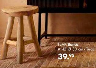 Oferta de Banco por 39,95€
