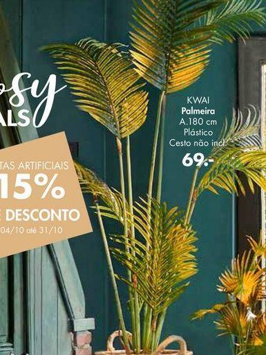 Oferta de Plantas artificiais por 69€