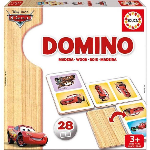 Oferta de DOMIN� CARS EM MADEIRA por 9,99€