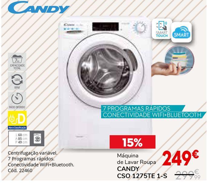 Oferta de Máquina lavar roupa Candy por 249€