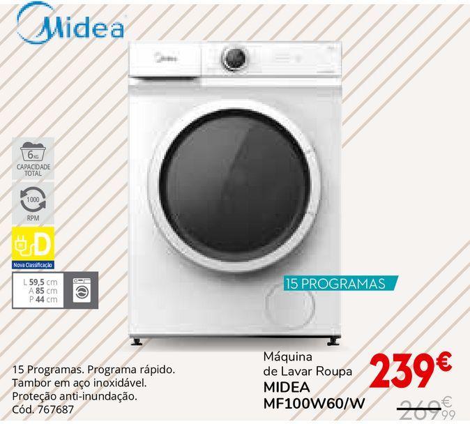 Oferta de Máquina lavar roupa por 239€