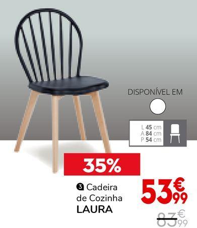 Oferta de Cadeiras para cozinha por 53,99€