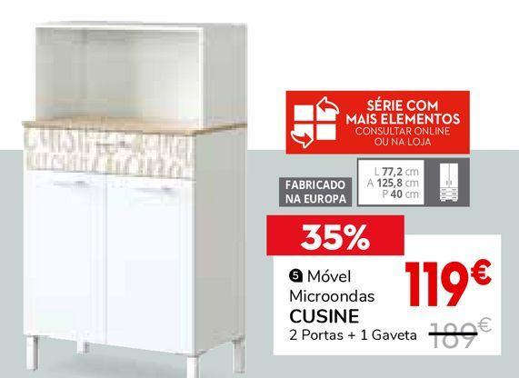 Oferta de Móvel para microondas por 119€