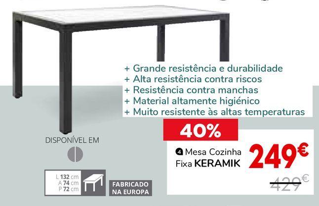 Oferta de Mesa de cozinha por 249€