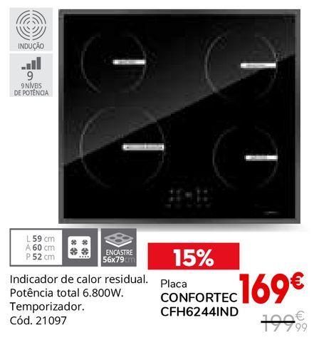Oferta de Placa de cozinha por 169€