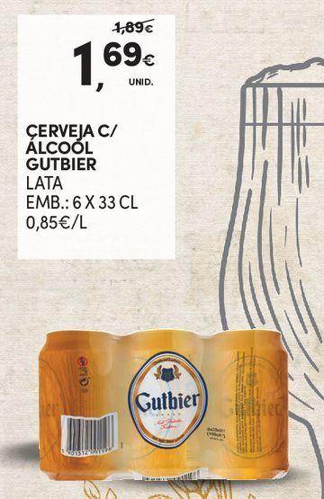 Oferta de Lata de cerveja por 1,69€