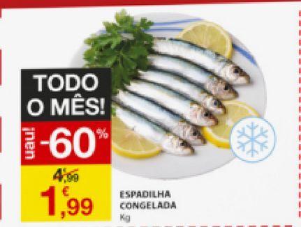 Oferta de Peixe por 1,99€