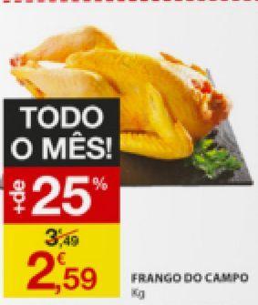 Oferta de Frango por 2,59€