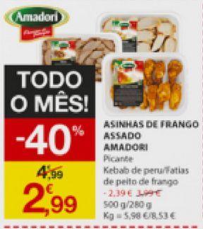 Oferta de Asa de frango amadori por 2,99€