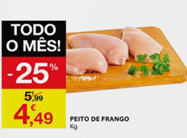 Oferta de Peito de frango por 4,49€