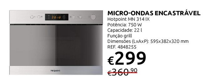 Oferta de Microondas por 299€