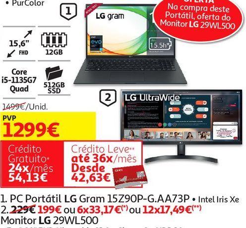 Oferta de PC Portátil LG  por