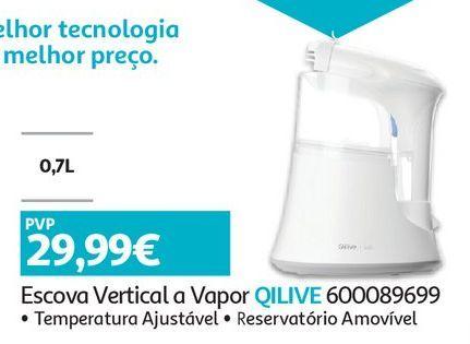 Oferta de ESCOVA A VAPOR QILIVE:VERTICAL por 29,99€