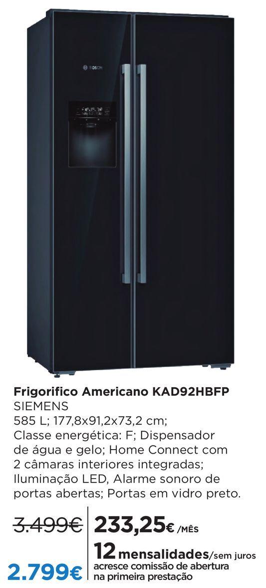Oferta de Frigorífico americano Siemens por