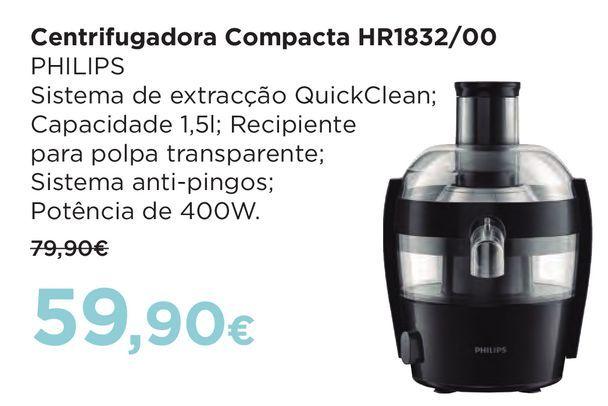 Oferta de Eletrodomésticos para cozinha Philips por 59,9€