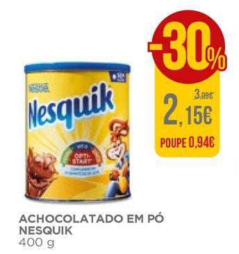 Oferta de Chocolate em pó Nesquik por