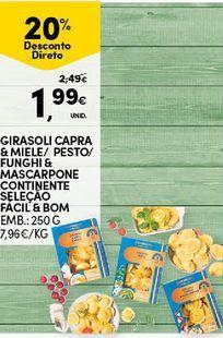 Oferta de Alimentação por 1,99€