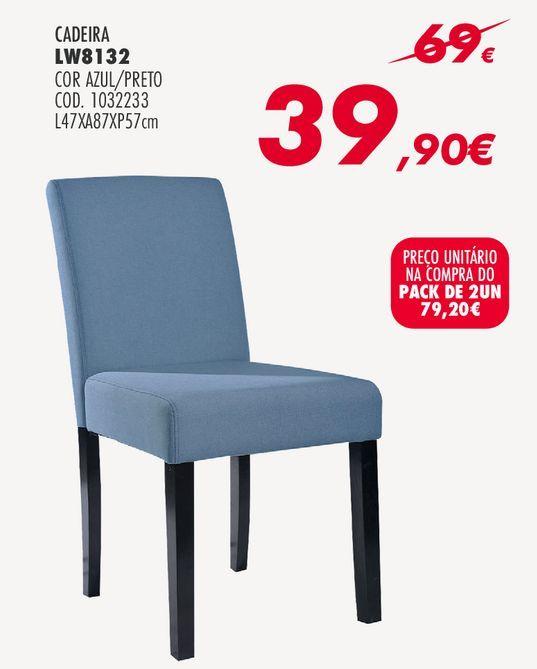 Oferta de Cadeiras por 79,2€