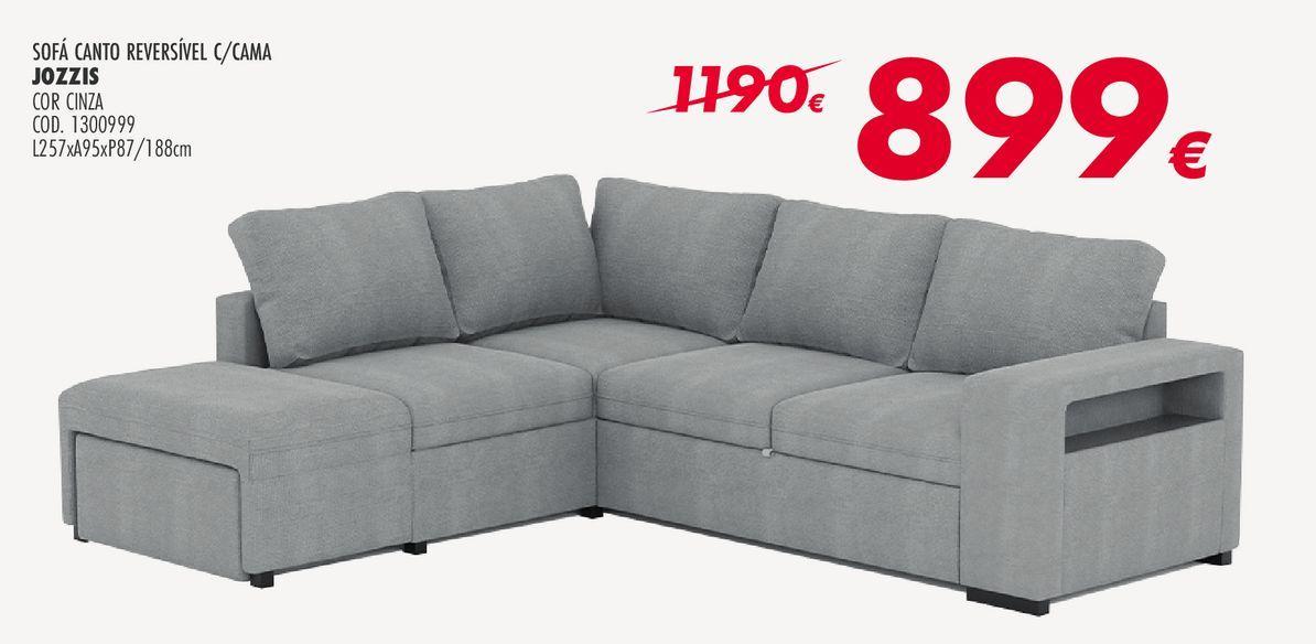 Oferta de Sofá de esquina por 899€