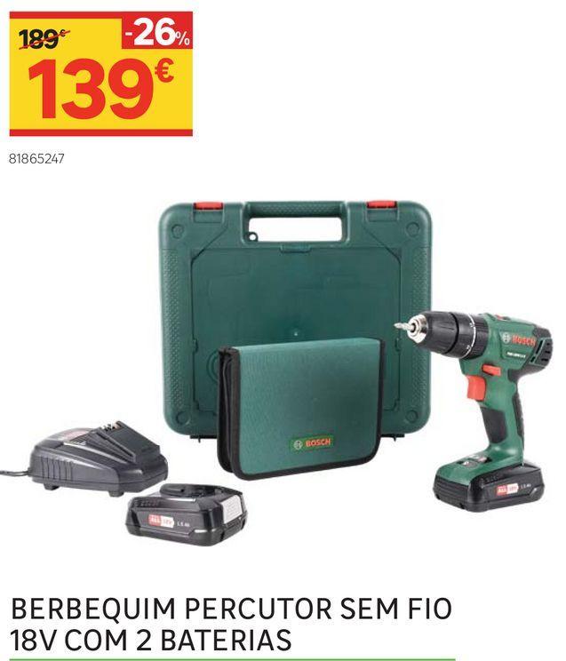Oferta de Ferramentas elétricas por 139€