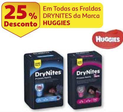 Oferta de FRALDA CALÇÃO HUGGIES por 9,74€