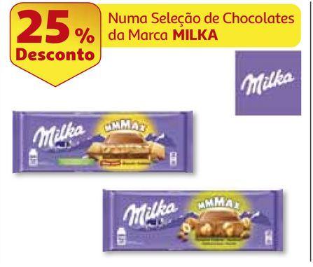 Oferta de CHOCOLATE MILKA por 2,99€