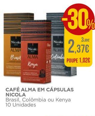 Oferta de Cápsulas de café Nicola por