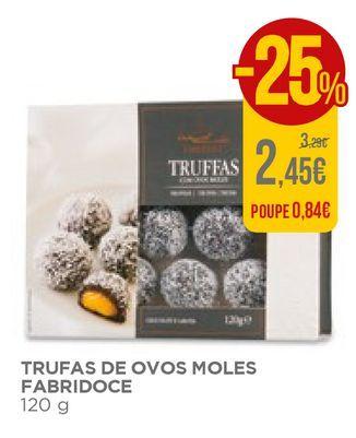 Oferta de Trufas de chocolate por