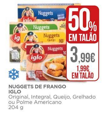Oferta de Nuggets de frango Iglo por