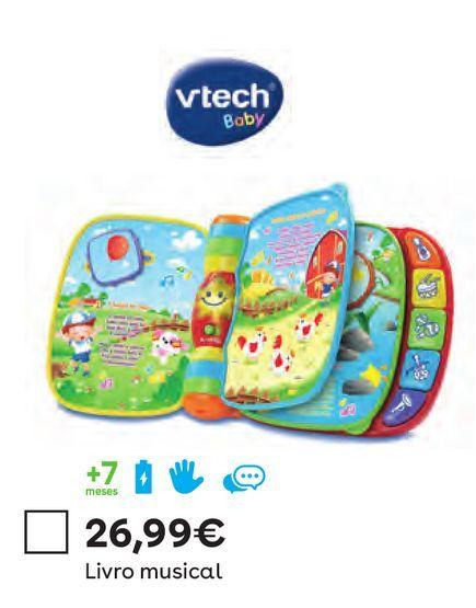 Oferta de Vtech - Livro Musical por 26,99€